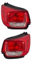 13-15 Chevrolet Malibu Left & Right Set Tail Lamp Assemblies w/o Led Quarter Mou - $463.00