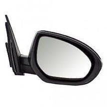Fits 10-15 Mazda CX9 Left Driver Power Mirror Unpainted W//Heat,Flat Glass No Sig