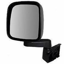 03-06 Jeep Wrangler Left Driver Mirror Manual Textured Black - $34.95