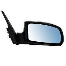 Fits 07-10 Kia Rio5 Right Pass Mirror Power Non-Painted Black w/Heat, Blue Glass - $109.95