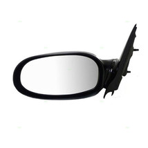 00-05 Saturn L Series Left Driver Mirror Power Non-Painted Black w/out Heat - $48.25