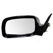 07-11 Toyota Camry Left Driver Mirror Power Non-Painted Black w/o Heat J... - $47.95