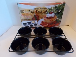 NORPRO PROFESSIONAL  LINKING MINI ANGEL FOOD CAKE PAN # 3975 NIB! - $19.69