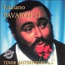 Luciano Pavarotti Tenor Masterpieces vol 2  CD, Jul-1995 - $3.90
