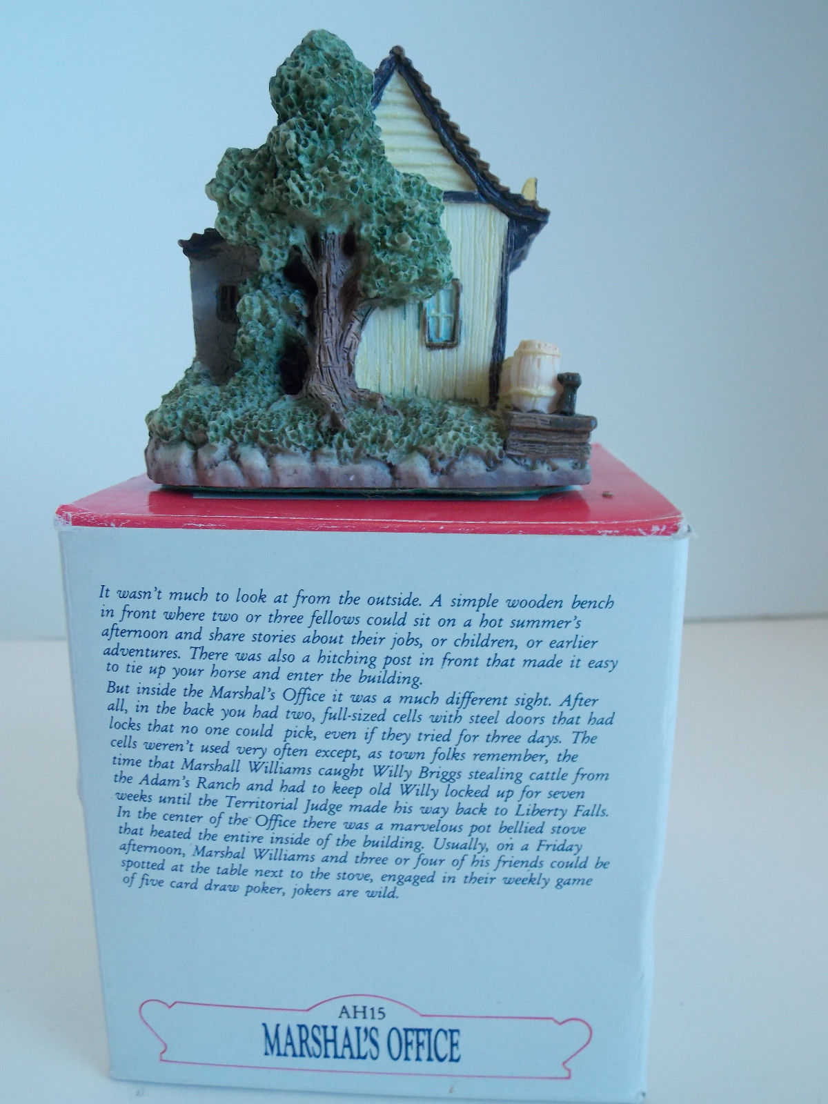 """Liberty Falls  The Americana Collection """"Marshall's Office AH15"""