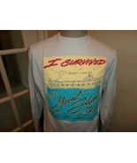 Vtg I Survived the Great Flood of 1997 Ark Hanes Cotton Tshirt Fits Adul... - $34.60