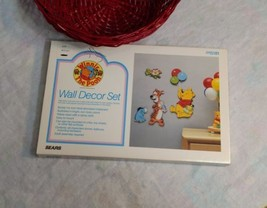 Vintage Sears Winnie the Pooh Wooden Wall Decor... - $33.65