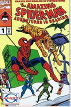 Amazing Spider-Man Adventures in Reading #1 Giant Vintage 1990 Marvel Co... - $12.86