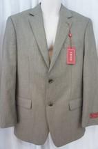 Izod Mens Blazer Sz 38R Regular Tan Multi Color Two Button Business Suit... - $79.17