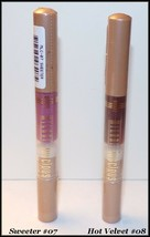 NEW & SEALED MILANI LUSCIOUS LIPS Gloss - #07 Sweeter  #08 Hot Velvet  F... - $6.95