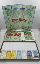 The 80s: A Game for Your Generation, Classic Real Estate Trading Board Game - $23.50
