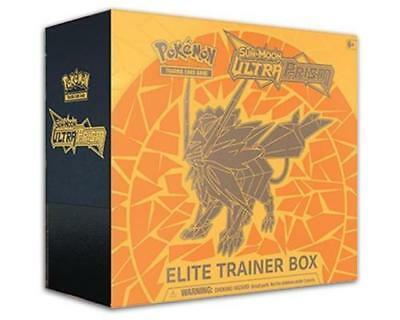 Pokemon TCG Ultra Prism Elite Trainer Box Dusk Mane & Dawn Wings Necrozma Bundle