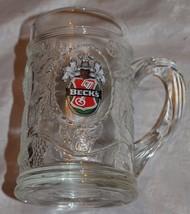 "BECK'S BEER GLASS MUG PRODUCT OF GERMANY 5"" TALL - $21.49"