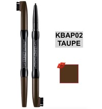 KISS N.Y PROFESSIONAL TOP BROW TOP BROW AUTO PENCIL COLOR: KBAP02 TAUPE - $3.98