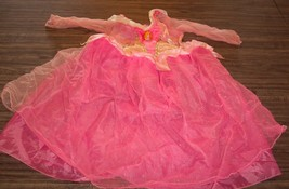 Disney Sleeping Beauty Aurora Pink Princess Children's Costume 1 Size Fits Most - $14.85