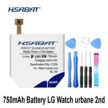 HSABAT BL-S6 750mAh Battery for LG Watch Urbane 2nd Edition LTE W200 Batteries - $38.74