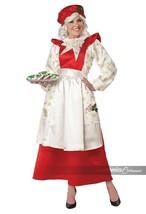 California Trajes Mamá Noel Pichi Vestido Navidad Adulto Disfraz 5020-009 - $71.75