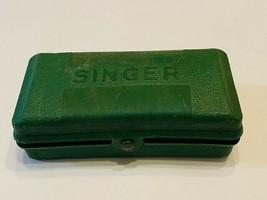 Vintage Singer Buttonholer In Hard Case - $30.00