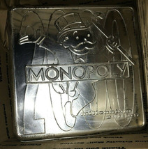 NIOB Monopoly 2000 Millenium Edition Collector Tin Parker Brothers  Sealed Parts - $63.04