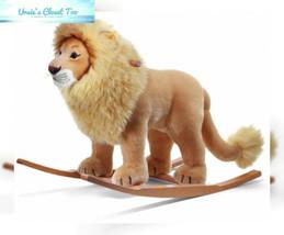 Steiff Leo Riding Lion Stuffed Rocker - Premium Quality Soft Woven Plush... - $553.08