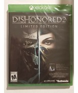 Dishonored 2: Limited Edition (Microsoft Xbox One) Brand New Factory Sea... - $9.75