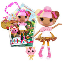 """NEW HOT Lalaloopsy 12"""" Tall Button Rag Scoops Waffle Cone + pet Waffle C... - $117.99"""
