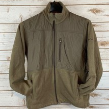 Columbia Full Zip Fleece Jacket Womens Size Small Light Brown - $23.52
