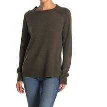SWEET ROMEO  Brown Long Sleeve Modern Girl Crew Neck Sweater Size 3X - $24.75