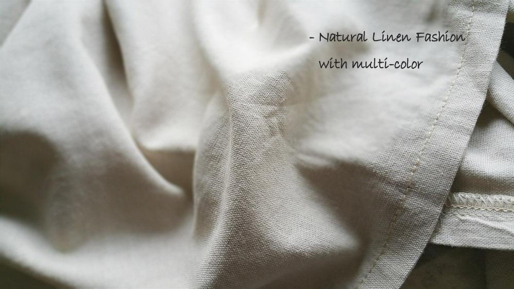 BEIGE Loose LINEN Long SKIRT Women Maxi Skirt Big Pockets Asymmetrical Skirt NWT