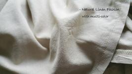 Women Loose LINEN SKIRT Summer Casual Boho Skirt Big Pockets Asymmetrical Skirt image 6