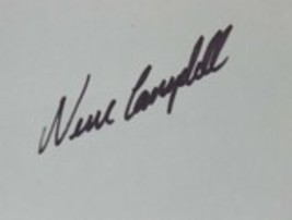 Neve Campbell Autographed 3x5 Index Card - $9.99