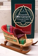 Hallmark Sleighful of Dreams Club 1988 Ornament - $0.98
