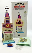 Dept 56 Monopoly City Lights NEWSSTAND DAILY & Box 56-13602 140 St Charl... - $21.80