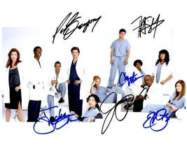 GREY'S ANATOMY Cast  - Autographed Signed  Photo w/COA - 27087 - $240.00