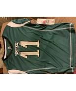 NFL Philadelphia Eagles Girls' Wentz Carson Short Sleeve Poly Top M - $10.75