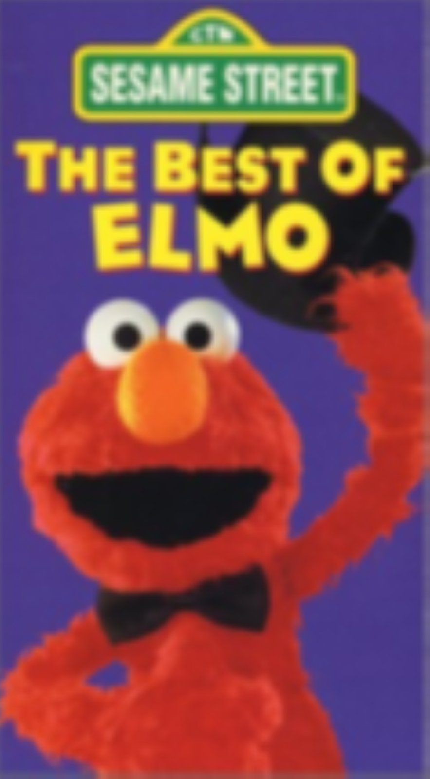 Sesame Street - The Best of Elmo Vhs