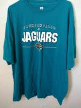 Men's XXL TEAL NFL Jacksonville Jags T-Shirt VF Imagewear Team Logo - $13.98
