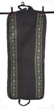 Vtg 90s VERA BRADLEY Fleur de Lis Quilted Garment Clothing Bag Travel Lu... - $38.60