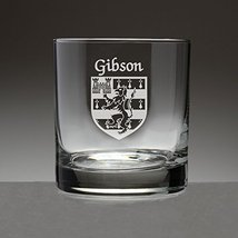Gibson Irish Coat of Arms Tumbler Glasses - Set of 4 (Sand Etched) - $56.79