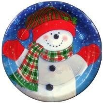 Snowman Fun Dinner Plates (10) - Party Supplies - $3.77