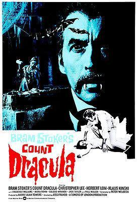 Primary image for Bram Stoker's Count Dracula - 1970 - Movie Poster