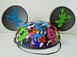 """Disney Parks Mickey Mouse Ears Hat Multi Color """"Joshua"""" name embroidered - $16.80"""