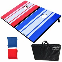 Corn Hole Game Bags Boards Toss Set Carrying Case Outdoor Back Yard Fun ... - $73.71