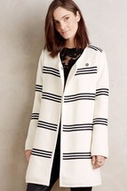 Nwt Anthropologie Riband Car Coat By Cartonnier Sp - $106.24
