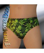 Thunderbox Cannabis Leaf Pattern Briefs, Swim, Casual Size S, M, L, XL - $20.00