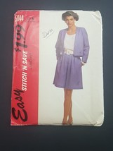 McCall Easy Stitch N Save 5844 Misses Jacket Shorts size 10, 12, 14 NEW ... - $6.95