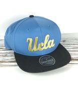 UCLA Zephyr Hat / Imprint Metallic Platinum Script Logo Snapback Basebal... - $17.69