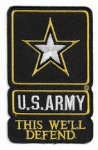 United States Army This we'll Defend Military Patch - $11.87