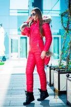 Women's Brand Fashion Hooded Ski Suit Snow Jumpsuit image 6