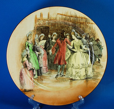 "Royal Doulton Sir Roger de Coverley 10.25"" Dinner Plate Dance - $38.00"